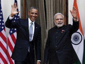 Modi jee and Obama